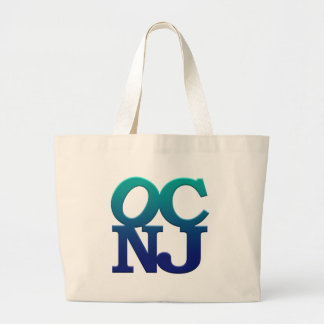 Greetings from Ocean City Large Tote Bag