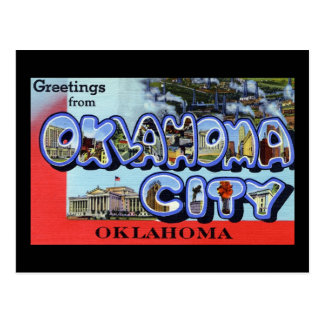 Greetings from Oklahoma City Oklahoma Postcard