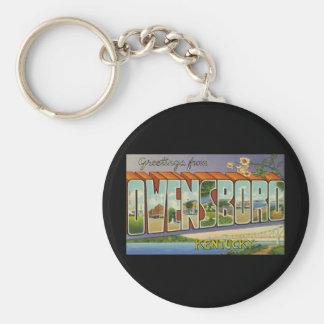 Greetings from Owensboro Kentucky Key Ring