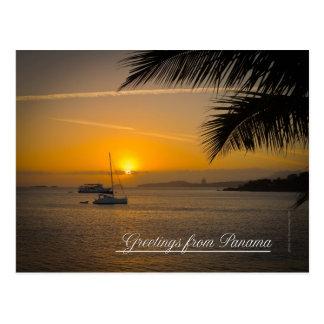 Greetings from Panama postcard
