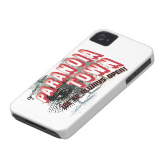 Greetings from Paranoia Town - Always Open Case-Mate iPhone 4 Case
