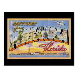 Greetings from Pensacola Florida Postcard