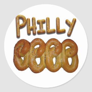 Greetings from Philly Round Sticker