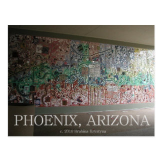GREETINGS FROM PHOENIX! WALL ART #3 POSTCARD