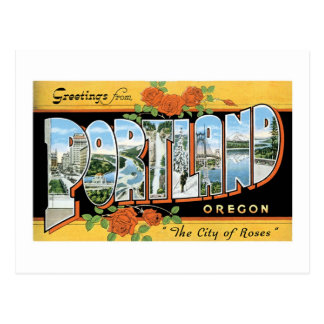Greetings from Portland, Oregon! Postcard