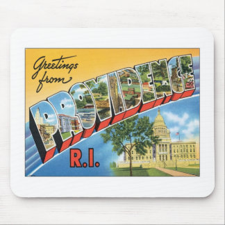 Greetings From Providence,Rhode Island Mouse Pad
