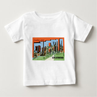 Greetings from Pueblo, Colorado! Baby T-Shirt