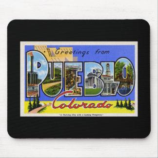 Greetings from Pueblo Colorado Mousepad
