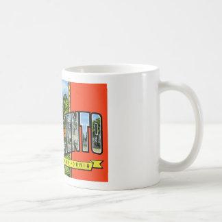 Greetings from Sacramento California Coffee Mugs