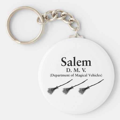 Greetings from Salem Key Chain