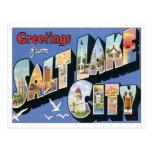 Greetings From Salt Lake City Utah Post Card