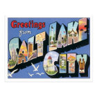 Greetings From Salt Lake City Utah Postcard