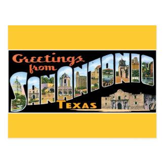 Greetings from San Antonio Postcard
