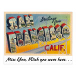 Greetings from San Francisco Post Card