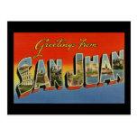 Greetings from San Juan Post Card