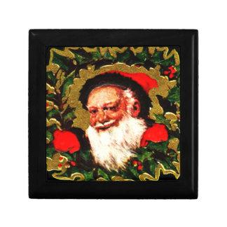 Greetings From Santa Claus Small Square Gift Box