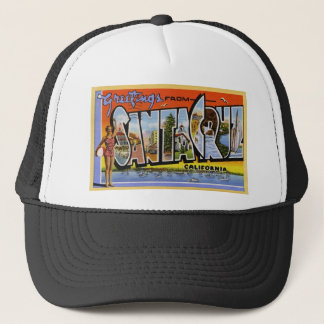 Greetings from Santa Cruz California Trucker Hat