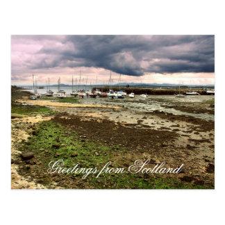 Greetings from Scotland, Aberdour Postcard