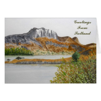 Greetings From Scotland Card