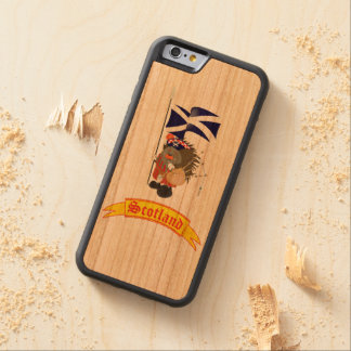 Greetings from Scotland Carved® Cherry iPhone 6 Bumper