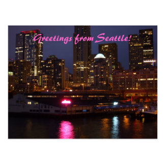 Greetings from Seattle! Postcard