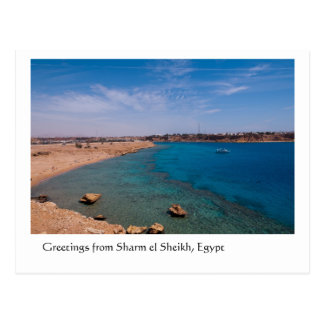 Greetings from Sharm el Sheikh Egypt Post Cards