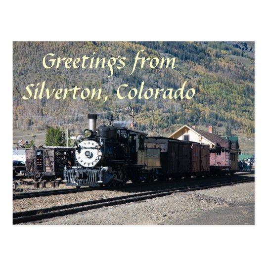 Greetings from Silverton, Colorado Postcard