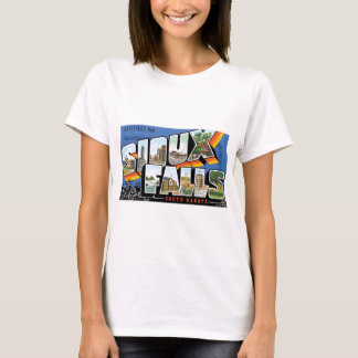 Greetings from Sioux Falls, South Dakota! Retro T-Shirt