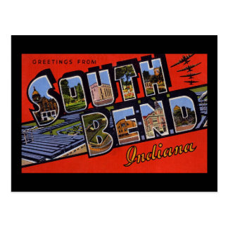 Greetings from South Bend Indiana Post Cards