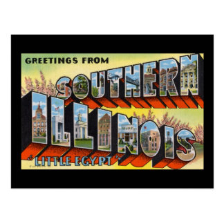 Greetings from Southern Illinois Little Egypt Postcard