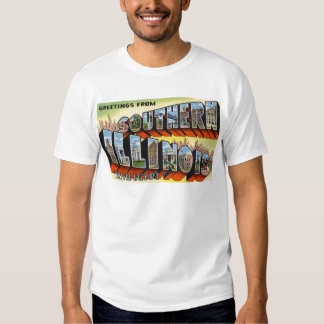 Greetings from Southern Illinois Little Egypt Tshirt