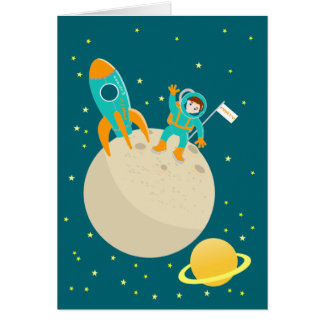Greetings from space cards