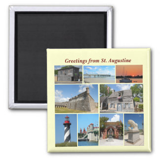 Greetings from St. Augustine, Florida Magnet
