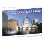 Greetings from St. Louis, Missouri Postcard