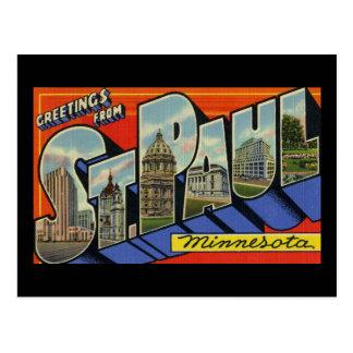 Greetings from St. Paul Minnesota Postcards