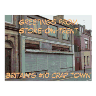 Greetings from Stoke-On-Trent postcard