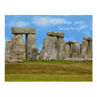 Greetings from Stonehenge Postcard