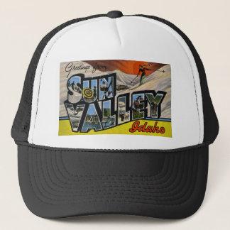 Greetings from Sun Valley Idaho Cap