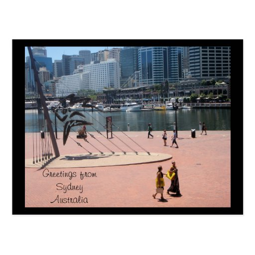 Greetings from Sydney Australia Post Card
