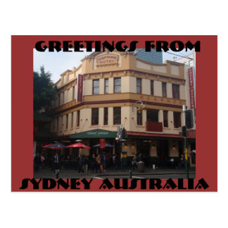 Greetings from Sydney Australia Post Cards