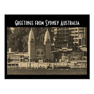 Greetings from Sydney Australia Postcard