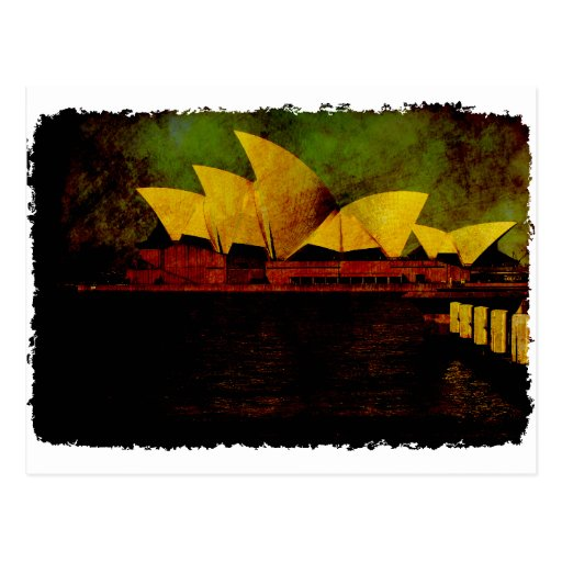 Greetings from Sydney Opera House Post Cards
