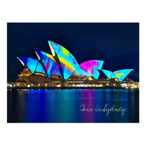 Greetings from Sydney Postcard