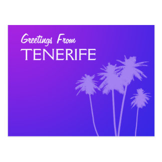 Greetings From Tenerife postcard