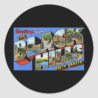 Greetings from the Black Hills South Dakota Sticker