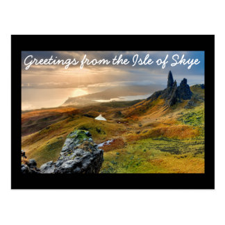 Greetings from the Isle of Skye Postcard