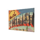 Greetings from the Ole Southwest Canvas Print