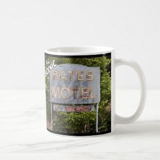 Greetings From The Scenic Bates Motel Basic White Mug