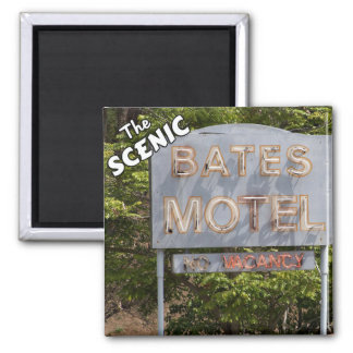 Greetings From The Scenic Bates Motel Magnets