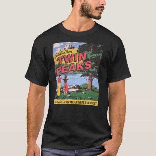 Greetings From Twin Peaks Washington Graphic T-Shirt
